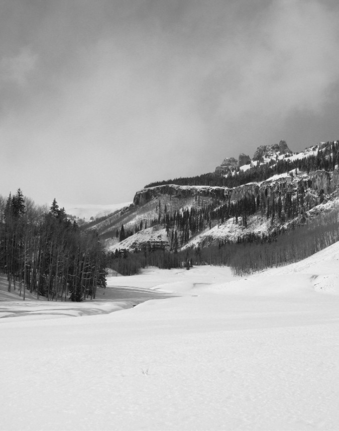 a scene from a snowier winter, what we're still waiting for...