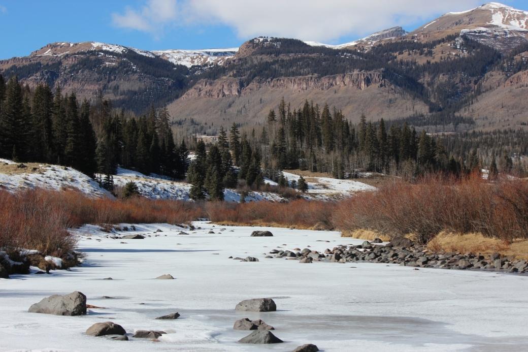 the rio grande at ute creek