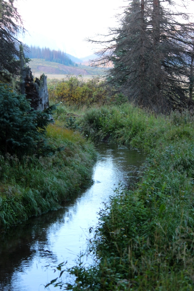 ditch on the Divide