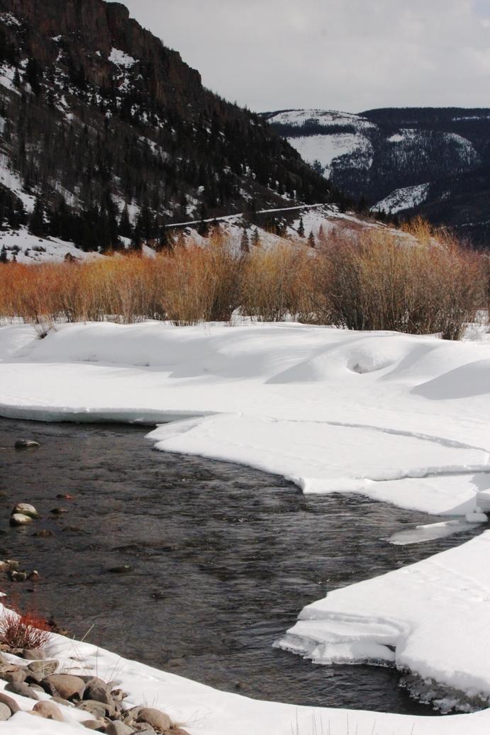 melting rio grande