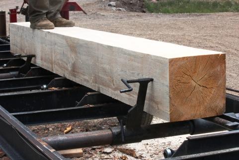milled log